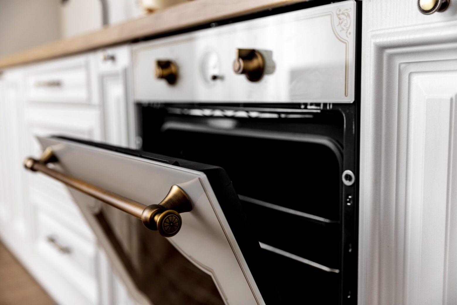 close up oven with golden details scaled - Cómo hacer tu asado - Preparación